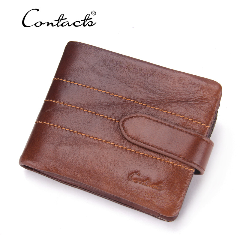 New Arrival Genuine Leather Wallets Men Cow Leather Clutch Bag Real Leather Wallet Credit Card Holder Female's Coin Purse Bolsa new arrival men wallets 100