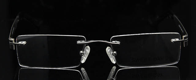 e6a8a46a3fd SKY SEA OPTICAL Luxury Women Rimless Glasses Frames Men Eyeglasses  Spectacles Prescription Eyewear Rx