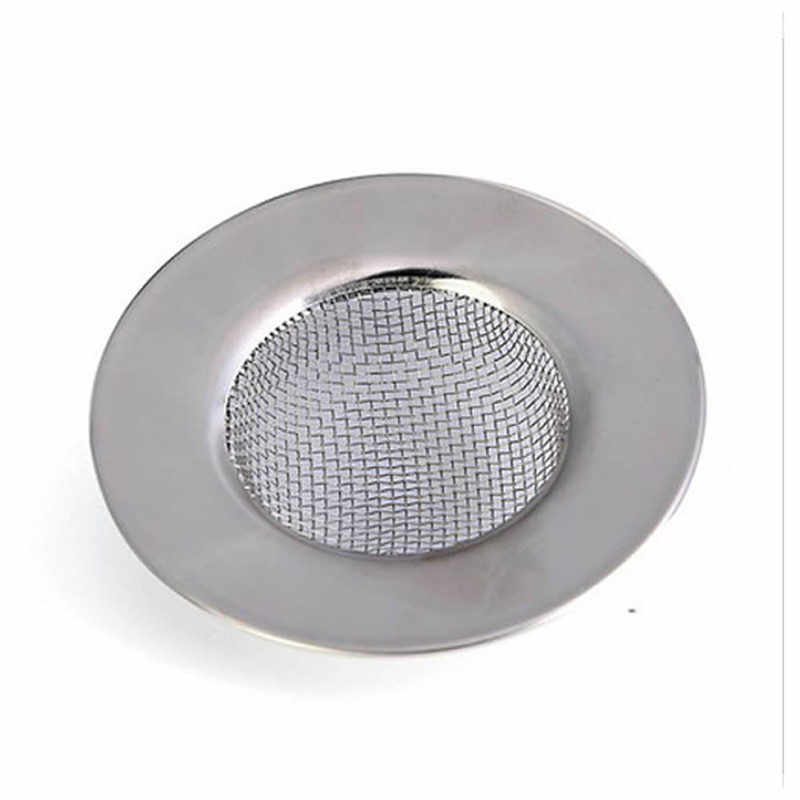 tainless Steel Bathtub Hair Catcher Stopper Shower Drain Hole Filter Trap Metal Sink Strainer Free Shipping