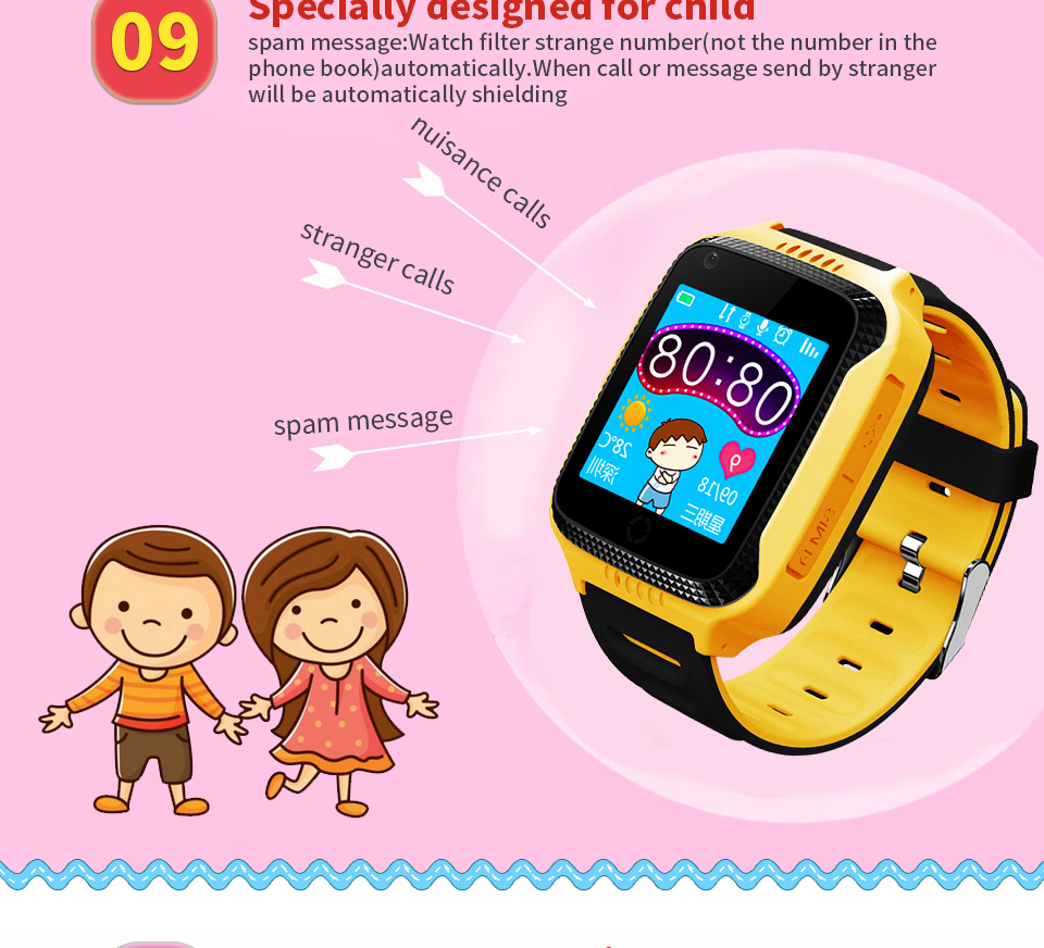Benovel Q528 Y21 Children GPS Smart Watch With Flashlight Baby Watch 1.44inch SOS Call Location Device Tracker for Kid Safe watches (14)