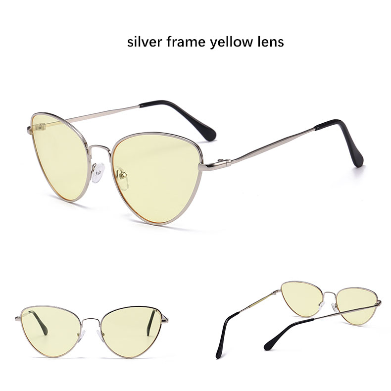 HTB13lfkSXXXXXamXFXXq6xXFXXXL - Red Cat Eye Transparent Lens Vintage Sunglasses Retro 70s Design