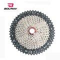 12 Скоростей 11-52T Freewheel кассета черный серебристый трудосберегающий подъем маховик широкое соотношение для частей MTB горный велосипед части