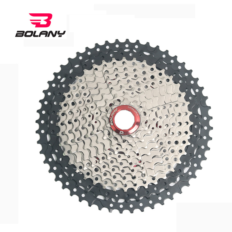 12 Speed 11-52T Freewheel Cassette Black Silver Labor-saving climb Flywheel Wide Ratio for parts MTB Mountain Bike Bicycle Parts12 Speed 11-52T Freewheel Cassette Black Silver Labor-saving climb Flywheel Wide Ratio for parts MTB Mountain Bike Bicycle Parts