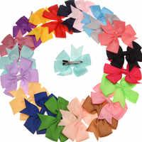 Cinta de lazo hecha a mano para el pelo, lazo de cola de Golondrina, Nudo de mariposa, tienda de lazos Vintage, accesorio para el pelo, pasador bonito, 120 Uds.