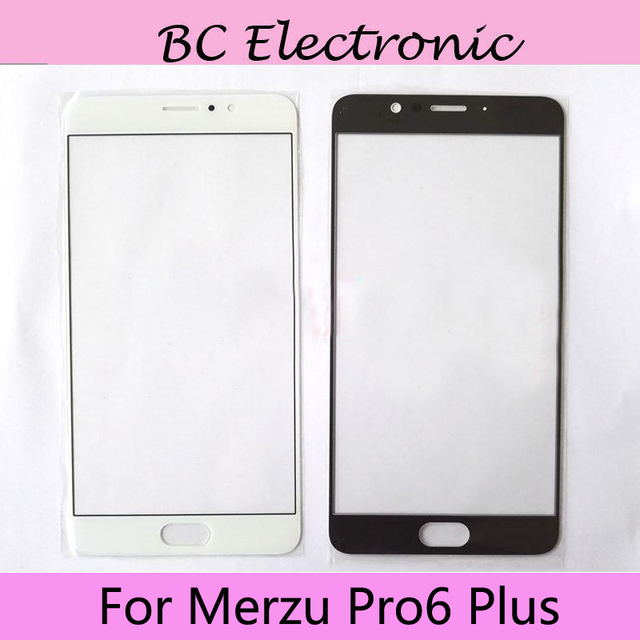 2pcs For Meizu Pro 6 Plus Outer Glass Lens Part for Meizu Pro6 plus Touch screen Front Glass Cover Pro 6 Plus With tool