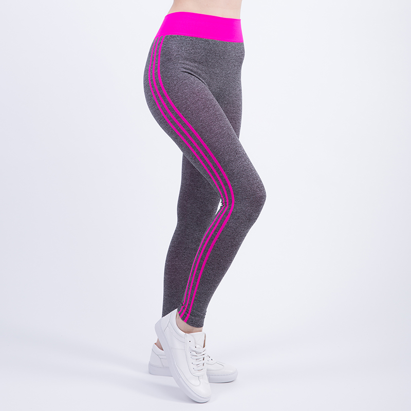 Tresdin New Women Sexy Cropped Leggings High Waist Elastic Wicking Force Exercise Female Elastic Stretchy Leggings Slim Trousers 7