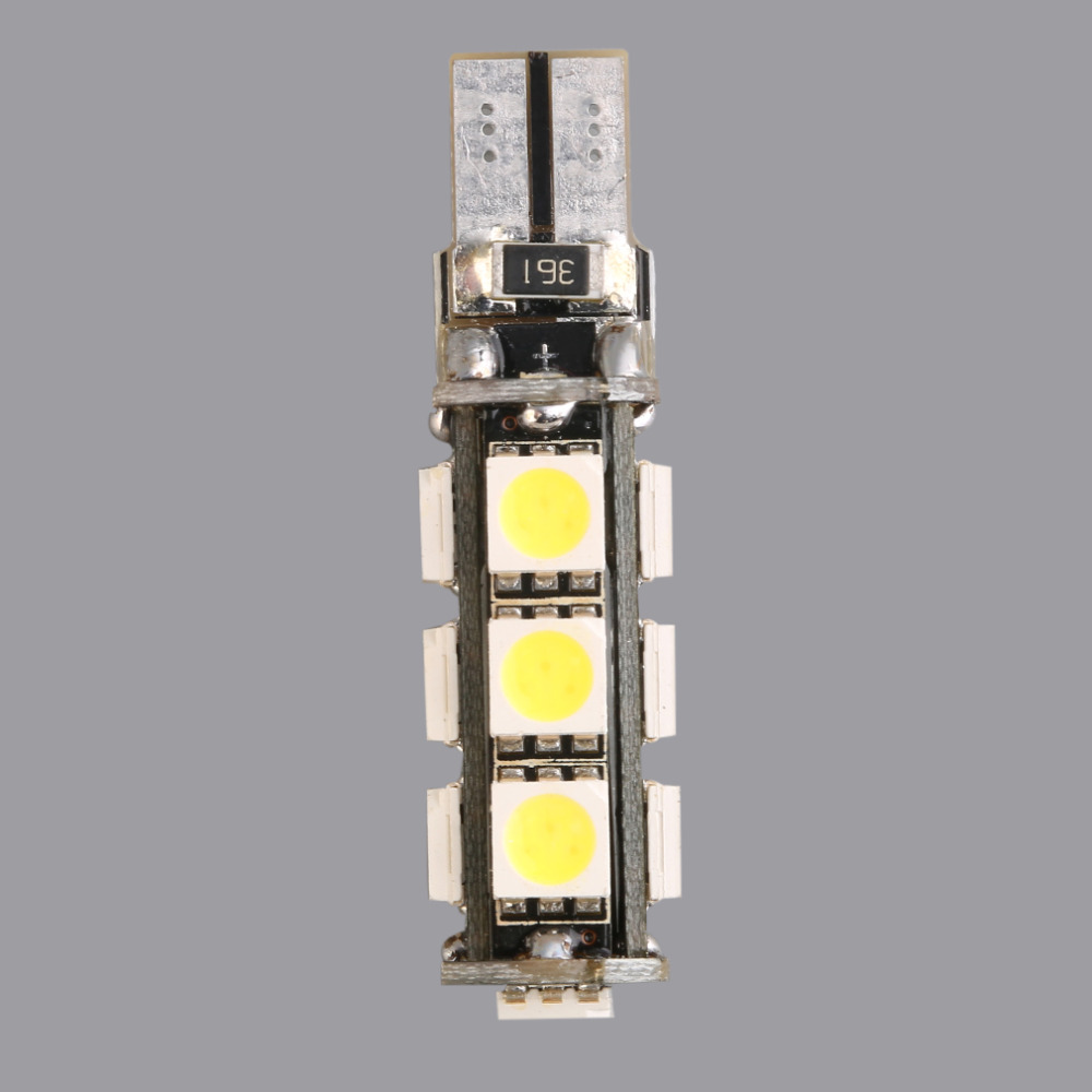 1 шт. высокое качество белый T10 13 SMD <font><b>5050</b></font> 13LED 13Smd 194 168 192 Авто боковой свет лампы 194 168 <font><b>w5W</b></font> Светодиодные лампы клина 12 В