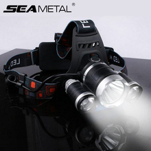 5 LED Headlamp T6 18650 Rechargeable USB Torch Light Flashlight For Fishing Waterproof 45000 Lumen Head Lamp Flash Led Headlight high power uv headlamp 5000 lumen led cree xml t6 led fishing light 18650 rechargeable usb head lamp head flashlight torch
