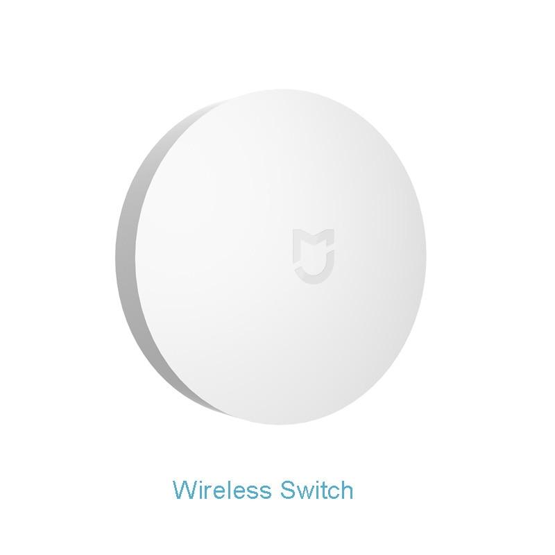 Image 3 - Xiaomi Smart Home Kit Mijia Gateway Door Window Human Body Sensor Temperature Humidity Sensor Wireless Switch Zigbee Socket-in Smart Remote Control from Consumer Electronics