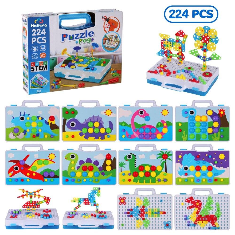 design de mosaico construcao dirll brinquedos cogumelo 04