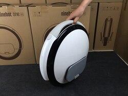Oryginalny Ninebot Segway jeden A1 pojedyncze koła skuter monocyklu elektryczny równoważący EUC jednokołowiec hoverboard deskorolka 4