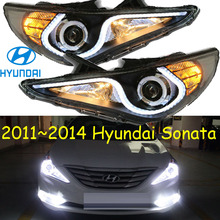 Hyunda sonata headlight 2011 2014 LHD RHD need add 200USD Free ship 2011 2013 verna headlight