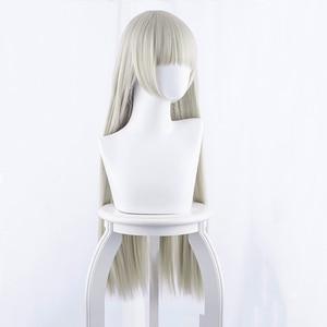 Image 4 - Anime Kakegurui Compulsive Gambler Cosplay Wigs Ririka Momobami Runa Yomozuki Mary Saotome Yumeko Jabami Cosplay Synthetic Wigs