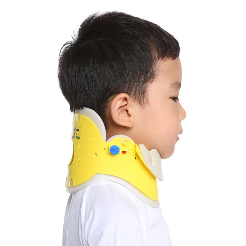 ФОТО JORZILANO Torticollis Support  Child Neck Collar Nursing Crooked Migraine Neck Braces Neck Posture Sleeve For 3-12 Years Old