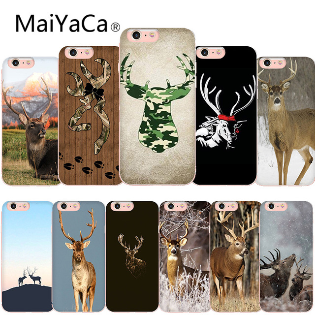 size 40 15688 786ee US $1.25 37% OFF|MaiYaCa Deer Hunting Camo Hot selling Phone Case cover  Shell For iphone 8 8plus and 7 7plus 6s 6s Plus 6 6plus XS XR-in  Half-wrapped ...