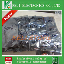 S9012 S9013 S9014 A1015 C1815 S8050 S8550,17valuesX20pcs=340pcs,Electronic Components Package,Transistor Assorted Kit