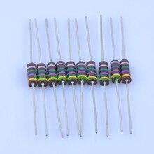 10pcs Carbon Composition vintage Resistor 0.5W 4.7M ohm 5 % цена