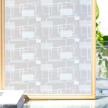 Funlife 90x200cm Home Decoration Window Film Privacy Opaque Frosted Glass Vinyl Self-adhesive Sticker