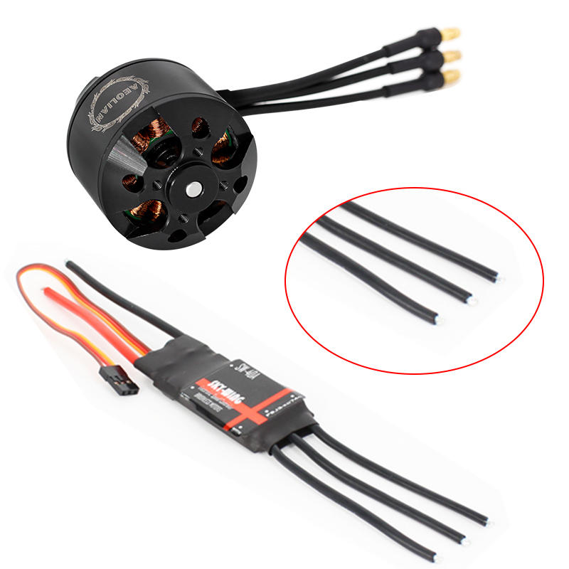 Combo motor and ESC 3536 910KV outrunner brushless motor and 40A electric  speed controller ESC