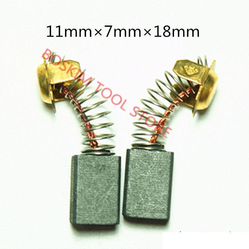 Carbon Brushes For HITACHI 999043 999-043 C10FS C10FSB C10FSH C7SA C7SC C8FB C8FB2 CM4SB2 CR12V CR13V2 CR13VA CR13VB  S18SB