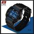 TTLIFE Moda Sports Digital Relógios Das Mulheres Dos Homens À Prova de Choque À Prova D' Água Estudante Relógio Cronógrafo Eletrônico Relógios de Pulso relojes