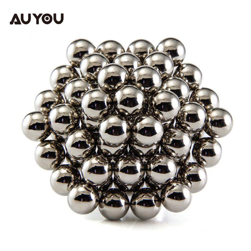 AU вы 3 мм 5 мм 216 штук 3D Cube Сфера-пазл образования детей магнит шары, игрушки