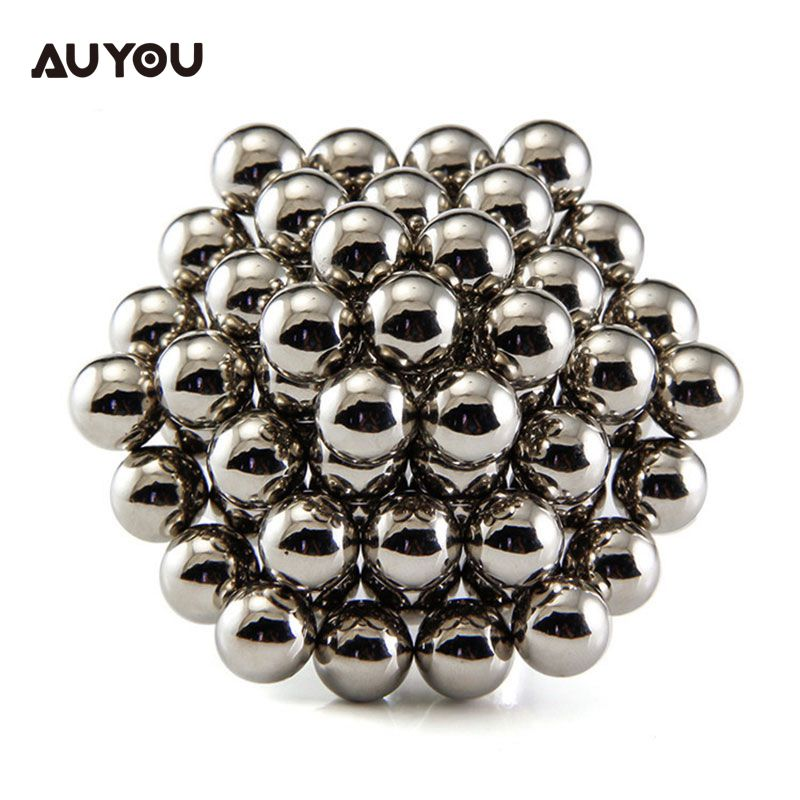 AU YOU 3mm 5mm 216pieces 3D Cube Sphere Puzzle Kids Education Magnet Balls Toy new style 432pcs mini 3mm diameter magnetic ball sphere neodymium puzzle ndfeb novelty toy for kids children