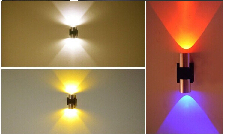 Free shipping ac85265v 5w led wall lights different light colors free shipping ac85265v 5w led wall lights different light colors redgreenbluepurple warm white and cold white in led indoor wall lamps from lights aloadofball Gallery