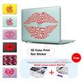 Красочные Сексуальные Губы Ноутбука Чехол Для Apple MacBook Air 11 13 Pro Retina 13 Новый 12 дюймов Твердой Оболочки Защитный Чехол