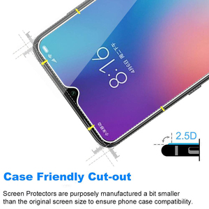Image 3 - Protetor de tela 5 peças de vidro temperado, para xiaomi mi 9h 2.5d telefone no vidro protetor para xiaomi mi 9 vidro 9 se mi9