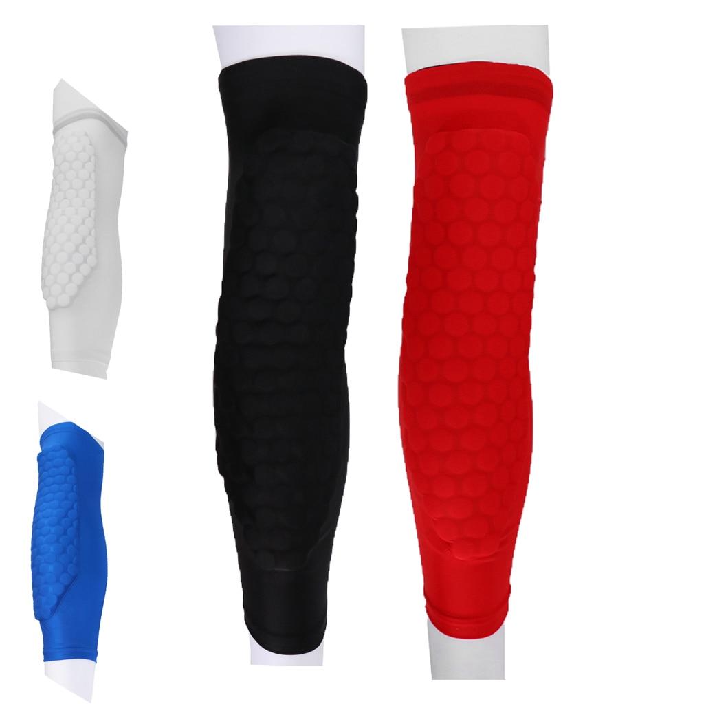 Honeycomb Knee Pads Leg Protector Crashproof Basketball Sleeve for Running,Sports,Joint Pain Relief, Arthritis Kneepad M L XL