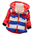 7-24months Winter Newborn Baby Coats Outwear baby Winter Warm Striped color Warm Jacket Baby Boys girls Fashion warm clothes