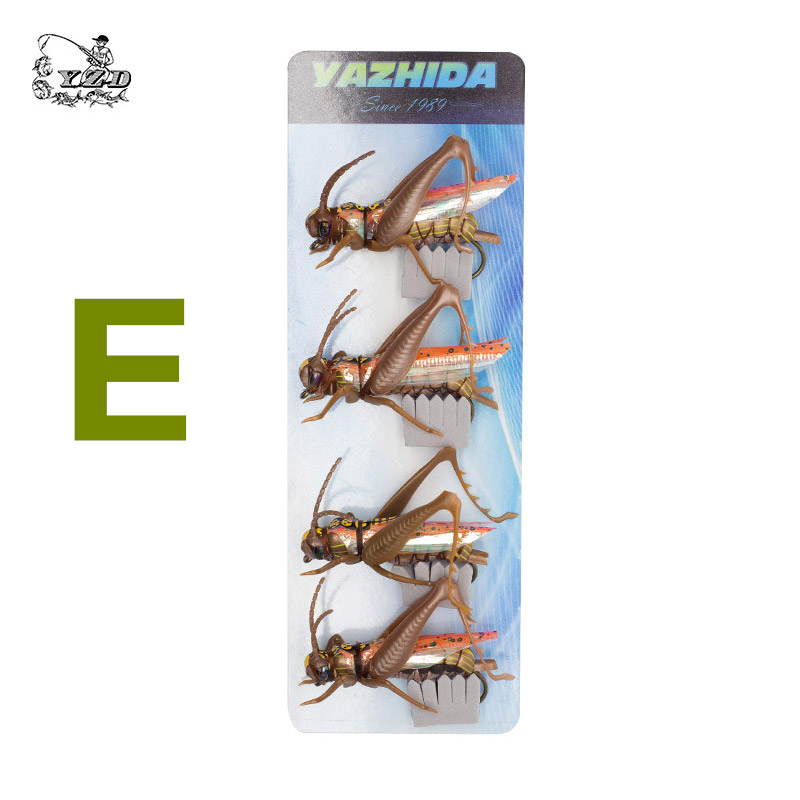 US $9 58 20% OFF|Grasshopper Lure Flies Dry Fly Fishing Flies Set Realistic  Fly Tying Kit for Pike Rainbow Trout flyfishing-in Fishing Lures from