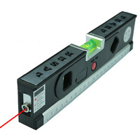 New Multipurpose Bubbles Laser Level Horizon Vertical Measuring Tape Aligner Ruler Tool Laser Marking Lines
