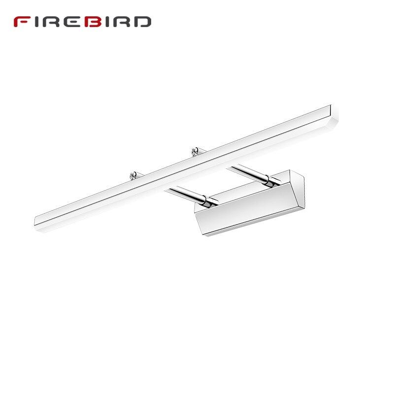 LED Wand Lampen Badezimmer Extensible Spiegel Front Lichter 40 cm 50 cm 60 cm 70 cm 80 cm Moderne Wand wandlampen Moderne Innen Beleuchtung MFL02