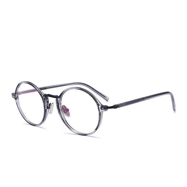 Online Shop MINCL/ 2018 Hot Sale Round Glasses Women Clear ...