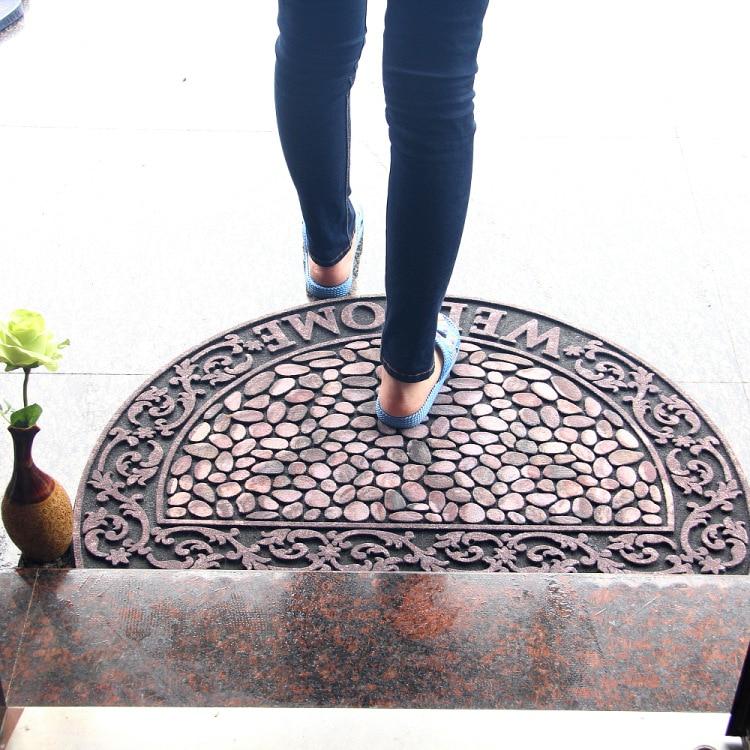 Luxus Europa Fußmatte Naturkautschuk Größe 90x60 CM Flur Salon - Haustextilien - Foto 1