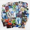 Бесплатная доставка (105 шт./лот) Dragon Ball Z Кредитной Карты Наклейки Гоку/Вегета/Dragon Ball Супер Саян AF Классические Мультфильм Наклейки