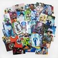 Free shipping (105 pcs/lot) Dragon Ball Z Credit Card Stickers Goku/Vegeta/Saiyan Dragon Ball Super AF Classic Cartoon Stickers