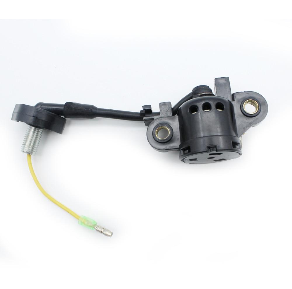 Montagem Interruptor de Sensor de Nível De óleo Para HONDA GX340 GX390 GX270 GX240 8HP 9HP 11HP 13HP Motor A Gasolina Motor Gerador de Água bomba