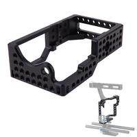 ALLOYSEED Protective Video Camera Cage Protector Stabilizer For BMPCC Camera To Mount Mic Monitor Tripod Light