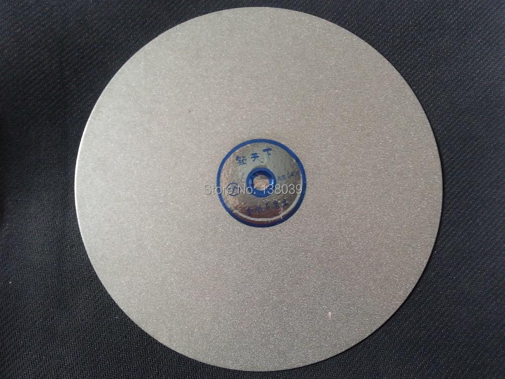 "Grit 2000 Diamond coated 8/"" inch Flat Lap wheel Lapidary lapping polishing disc"