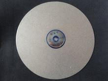 """Diamond coated 12 """"inch Flat Schoot wiel Sieraden slijpen polijsten disc"""
