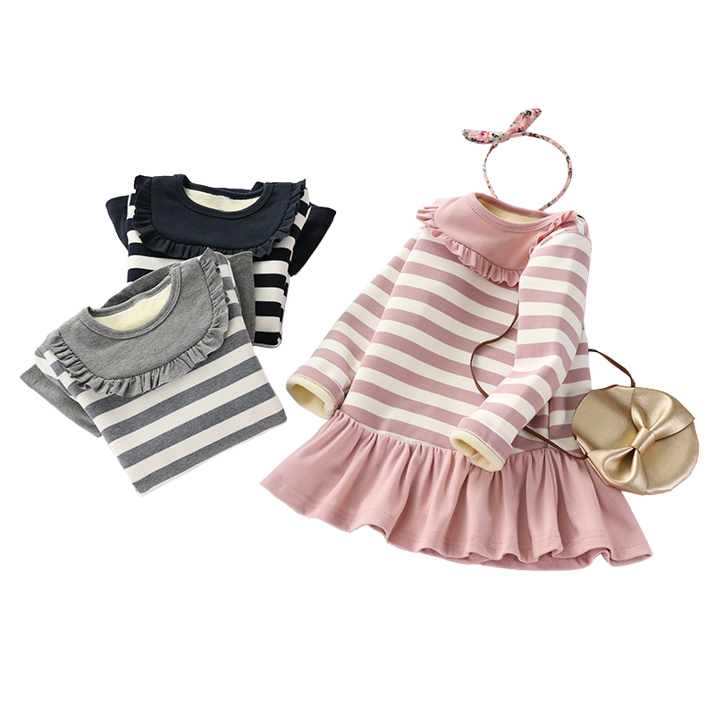 ae79f4608c91 Detail Feedback Questions about cute striped ruffle dresses age for ...