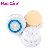 3pcs/pack Brush Heads For Electric Facial Cleanser Brushes Head Face Cleaner Blackhead Acne Removal Facial Massager Skin Care