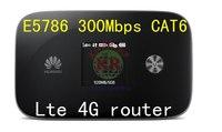 4g LTE Router Fdd Tdd 300Mbps Cat6 Unlocked Huawei E5786 E5786s 63a 4g Lte MiF Wifi