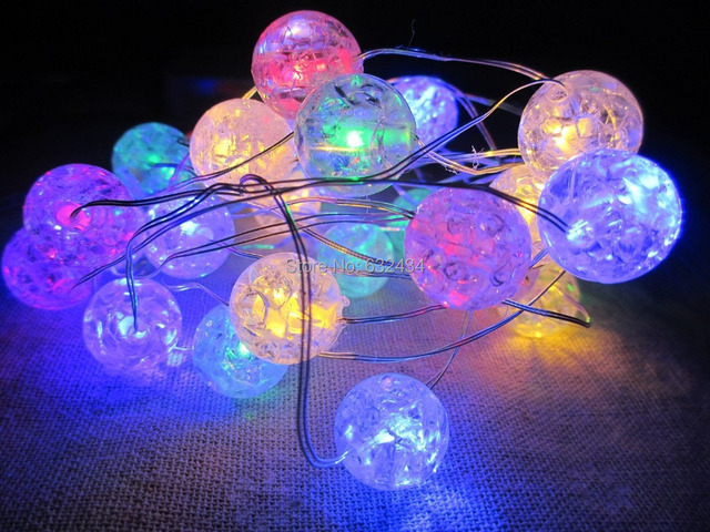 cs tech 30 led christmas tree lights battery operated for xmas party indoor