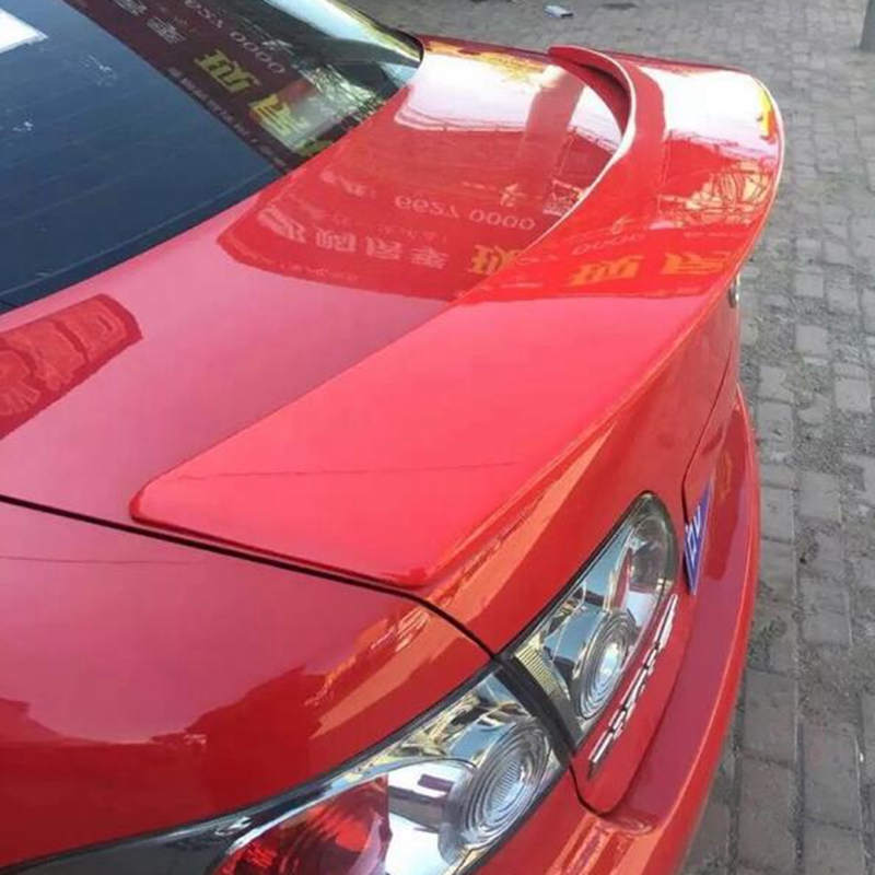 Car Styling ABS Plastic Unpainted Rear Boot Trunk Wing Spoiler For Mazda 6 Spoiler 2006 2007 2008 2009 2010 2011 2012 2013 2014
