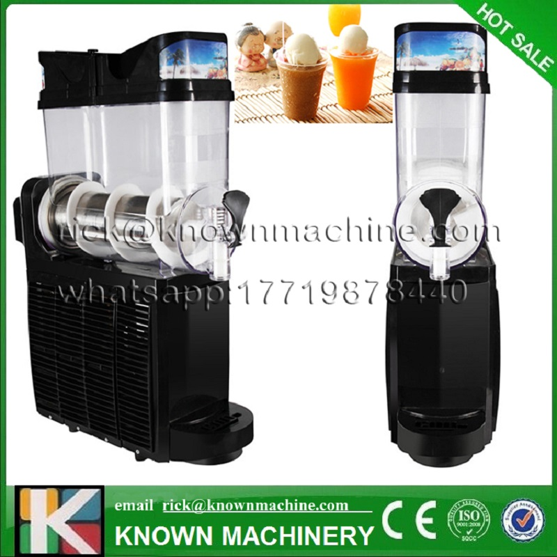 1 Tank Big Capacity High Efficiency CE Approved Frozen Commercial Snow Melt Machine For Sale