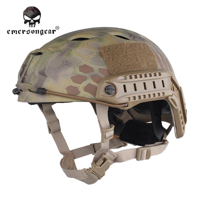 ФОТО Emersongear Fast Base Jump Hunting Wargame Adjustable Helmet Protective Helmet Emerson BJ Type EM5659I Mandrake